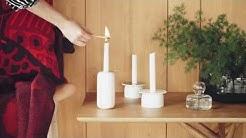 Marimekko Liekki and Loimu candleholders | FinnishDesignShop.com