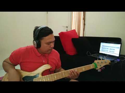 Isyana - Kau Adalah bass cover
