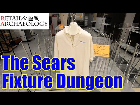 The Sears Fixture Dungeon | Retail Archaeology