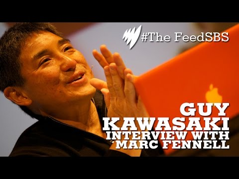 Apple's Guy Kawasaki interview with Marc Fennell I The Feed