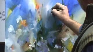 Мастер-класс художника Виктора Подгорного. РОМАШКИ для Ольги.