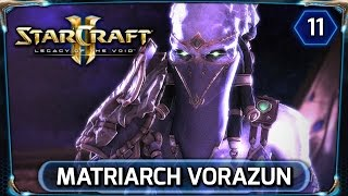 Starcraft 2 ► Legacy of the Void Cutscene - Matriarch Vorazun (LOTV Campaign Walkthrough)
