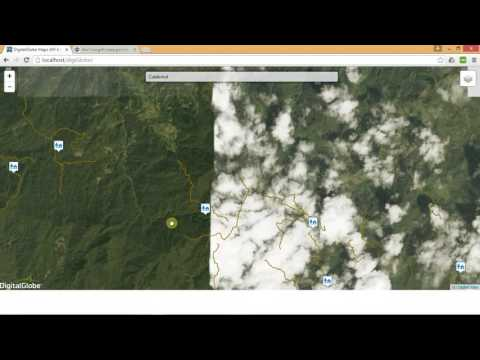 Demo of digital globe map burdGIS YouTube