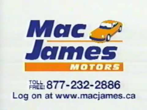 Mac James Motors >> Mac James Motors Throwback Credit History Commercial With Jingle Bad Credit Car Loans