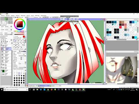 • Speed Painting • Eshaik / Jay Roberts - Private Collab With Mad ♥