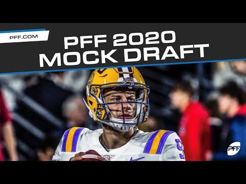 Nit Selection Show 2020.2020 Nfl Mock Draft V2 Pff