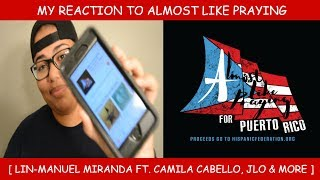 My Reaction To Almost Like Praying by Lin-Manuel Miranda ft. Camila Cabello, J Lo & More