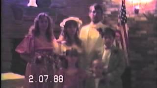 Ben and Thresa's Wedding Reception, 1988