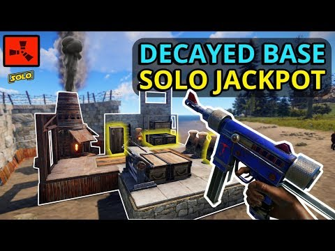 Rust DECAYED Bases Give LUCKY JACKPOT LOOT To A SOLO Player!! thumbnail