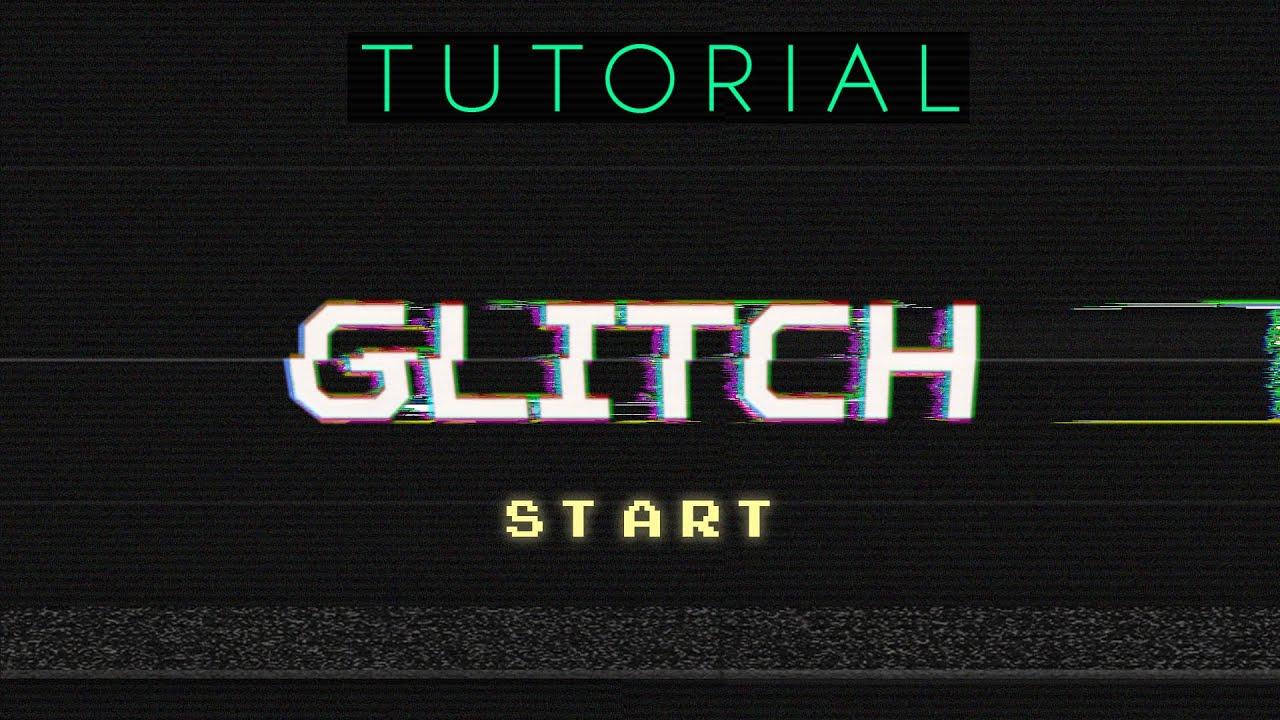 Glitch Text Effect | Intermediate Tutorial | Photoshop CC