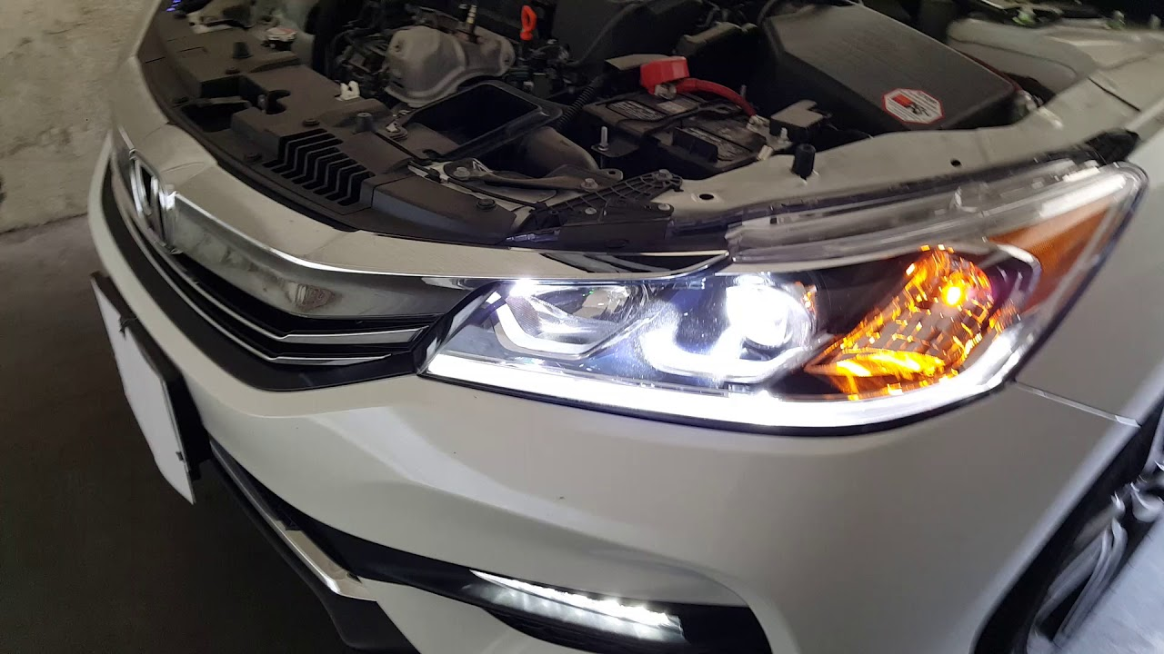 2017 Honda Accord Sport Led Headlights