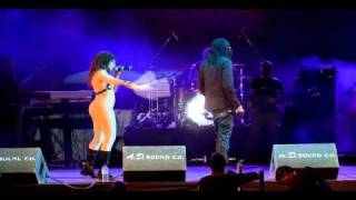 Skinny Fabulous performs with Destra at Eyes Wide Shut Carnivale 2011