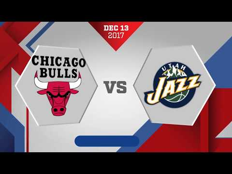 Utah Jazz vs. Chicago Bulls - November 13, 2017