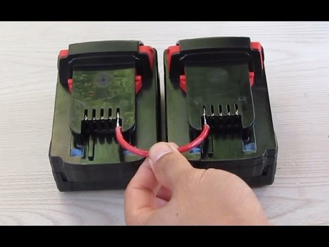 Quick Tip Make A Cable For Cordless Tool Batteries