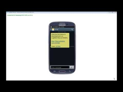 LogMeIn Rescue - Connecting To A Android Phone