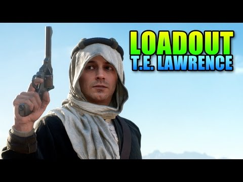 Loadout Lawrence Of Arabia - Custom SMLE | Battlefield 1 Sniper Gameplay