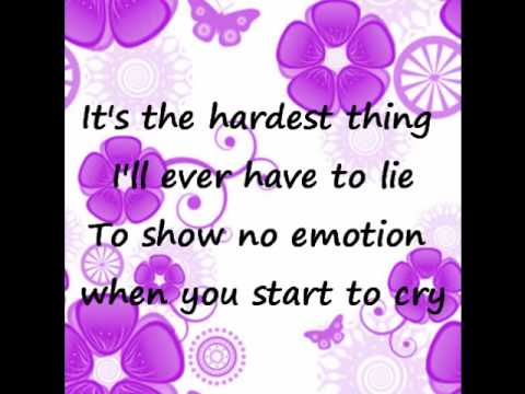 The Hardest Thing by 98 Degrees (with lyrics)