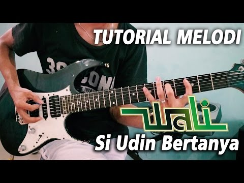 Tutorial Melodi WALI - SI UDIN BERTANYA | Detail (Slow Motion)