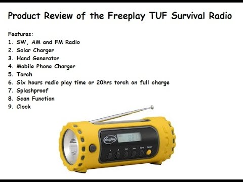 Survival Radio - Freeplay TUF Product Review