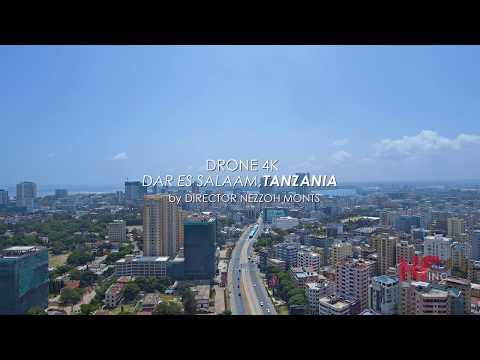 DAR ES SALAAM, TANZANIA - Aerials 4K Drone by Nezzoh Monts