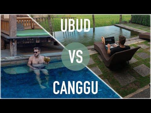 BALI FOR DIGITAL NOMADS: UBUD VS CANGGU
