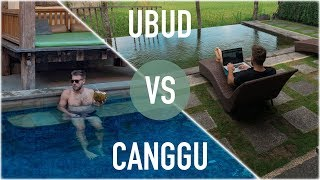 BALI FOR DIGITAL NOMADS: UBUD VS CANGGU