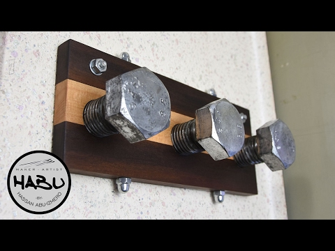 DIY \\ Industrial design coat hook