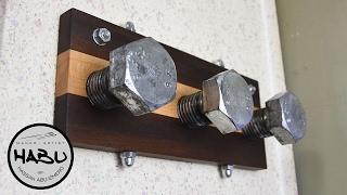 DIY \\ Industrial design coat hook
