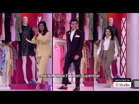 Myntra Fashion Superstar | Season 2 | Episode 1 | Sushmita Sen | Manish Malhotra | Mallika Dua