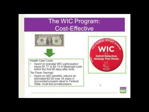 Maryland WIC's Health Care Provider Webinar on 8/1/2016