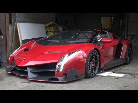 $5.0 Million Lamborghini Veneno Roadster On The Road!