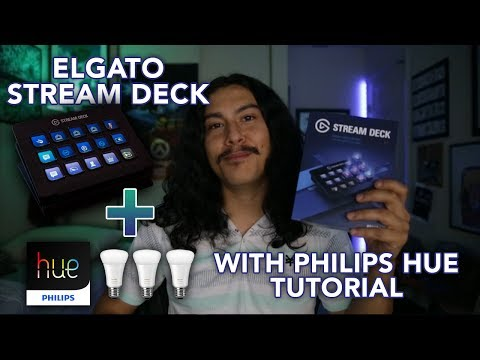 Elgato Stream Deck with Philips Hue Lights Tutorial