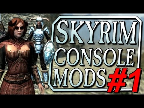 HORNY DEMON MAGIC (Skyrim Special Edition Console Mods - Part 1)
