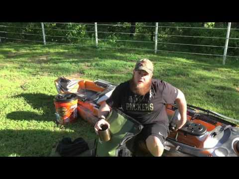 Kayak Camping Gear- 4 days on the Buffalo River in Arkansas: Part 1