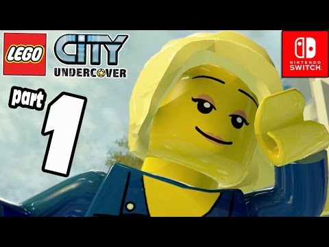 LEGO City Undercover Part 1 New Faces Old Enimies (Nintendo Switch) COOP Gameplay