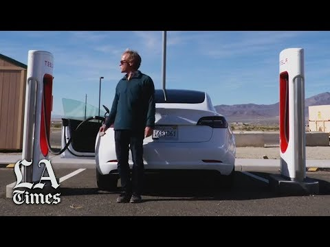 A Tesla road trip down Nevada's 'Electric Highway'