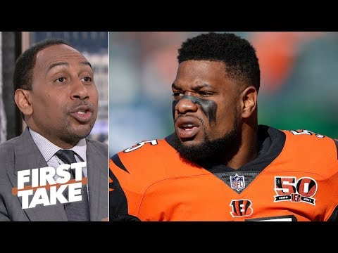 Vontaze Burfict would be perfect with the Raiders after Bengals' release - Stephen A.   First Take