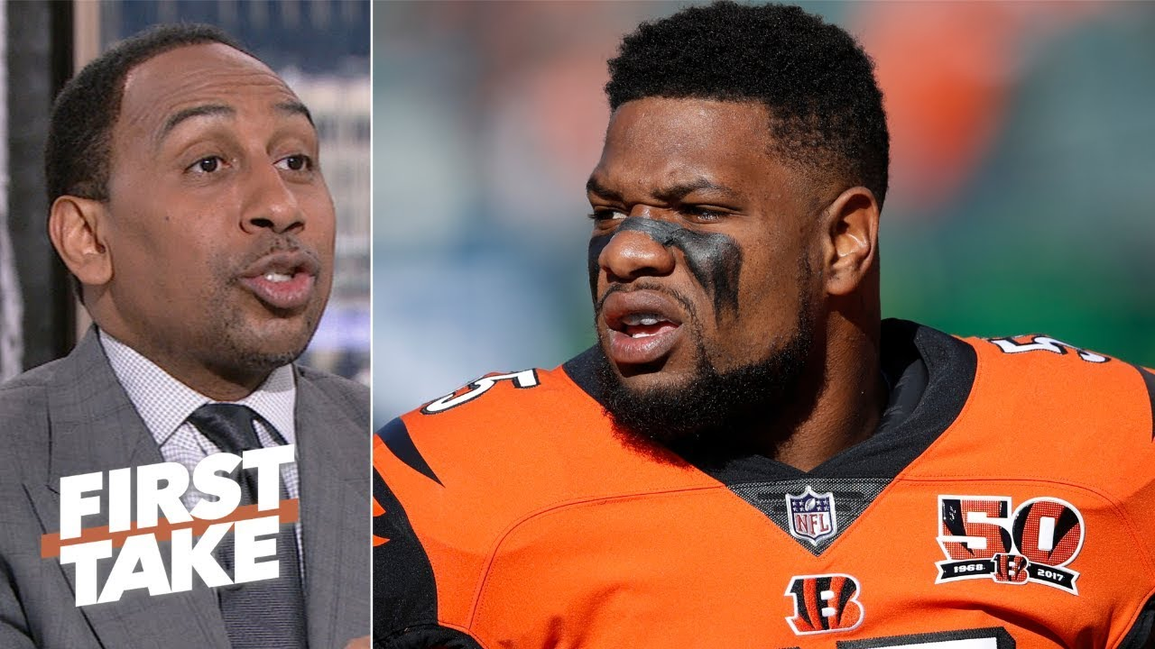 Vontaze Burfict Would Be Perfect With The Raiders After Bengals Release Stephen A First Take