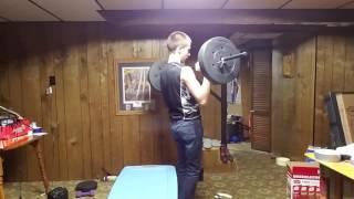 14 year old bodybuilder chest workout