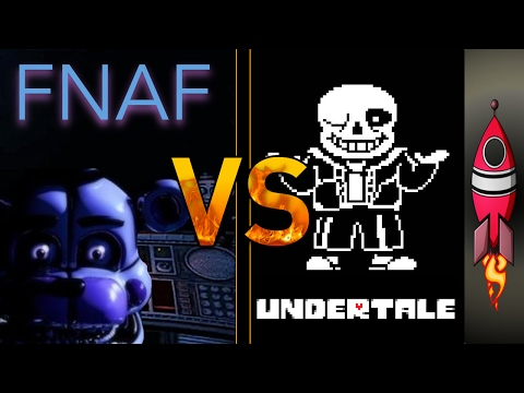FNAF Sister Location  VS Undertale Tell Me Another | SONG BATTLE #6 | Rockit Gaming