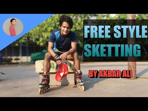 India best Freestyle Skating by Akbar Ali || short story