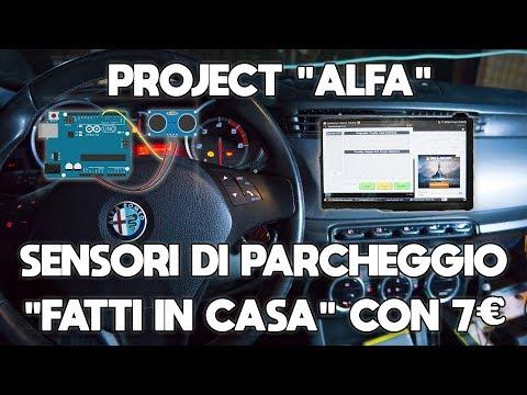 """PROJECT ALFA"" - LA MIA AUTO STA DIVENTANDO UN ROBOT ! DIY NAVIGATORE"