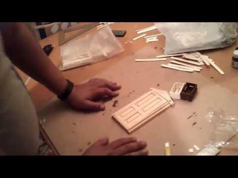 como hacer cajas de madera para dioramas maquetas how to wooden boxes for dioramas maquetas