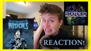 The Guy Who Didn't Like Musicals by TEAM STARKID | REACTION