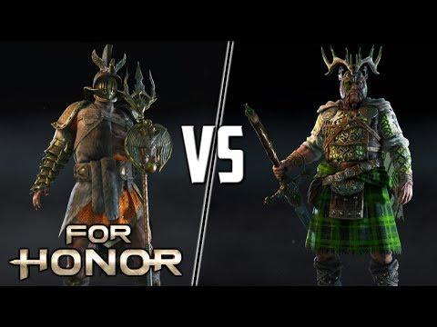 [For Honor] GLADIATOR VS HIGHLANDER! Spliced VS Zero_Craic!