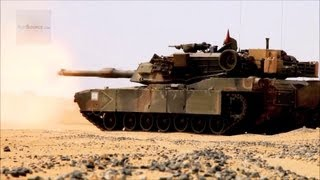 The World's Best Tank? M1A1 Abrams Tank Show of Force