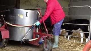 Mobile Calf Feeding Milk Tank