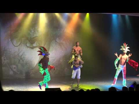 Live Show Acrobat African Talent Show on Cruise Ship 4k UHD