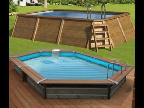 como hacer una piscina barata youtube