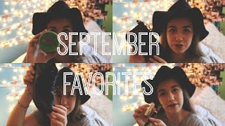 September Favorites 2014 Thumbnail